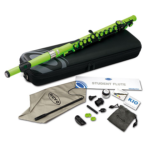Nuvo Student Flute Laser Green