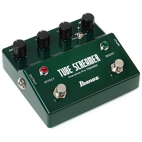 Ibanez TS808DX Tube Screamer Overdrive Pro