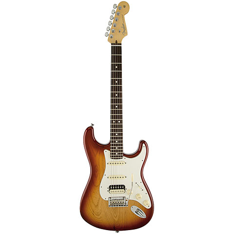Fender American Standard Strat HSS Shawbucker RW SSB
