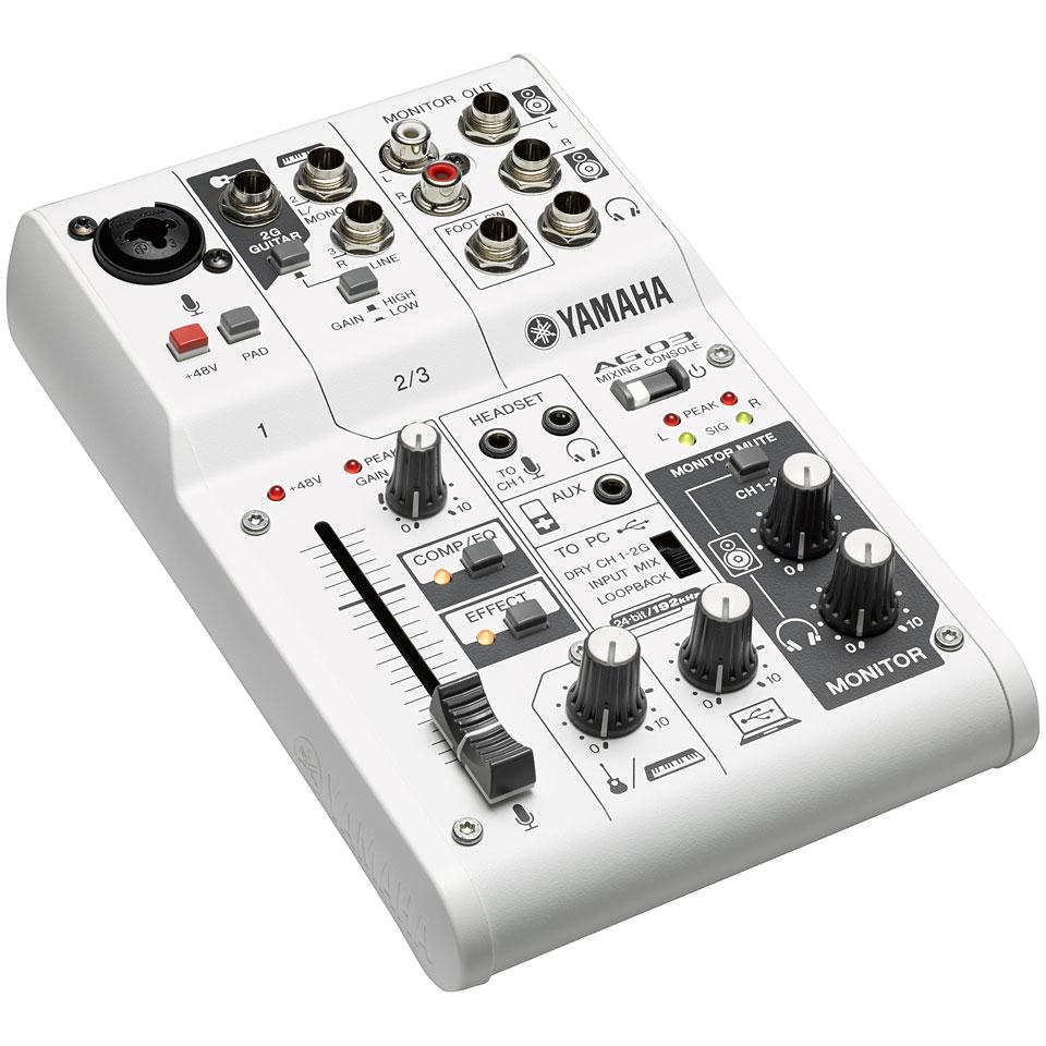 Yamaha Ag03 Console Analogique