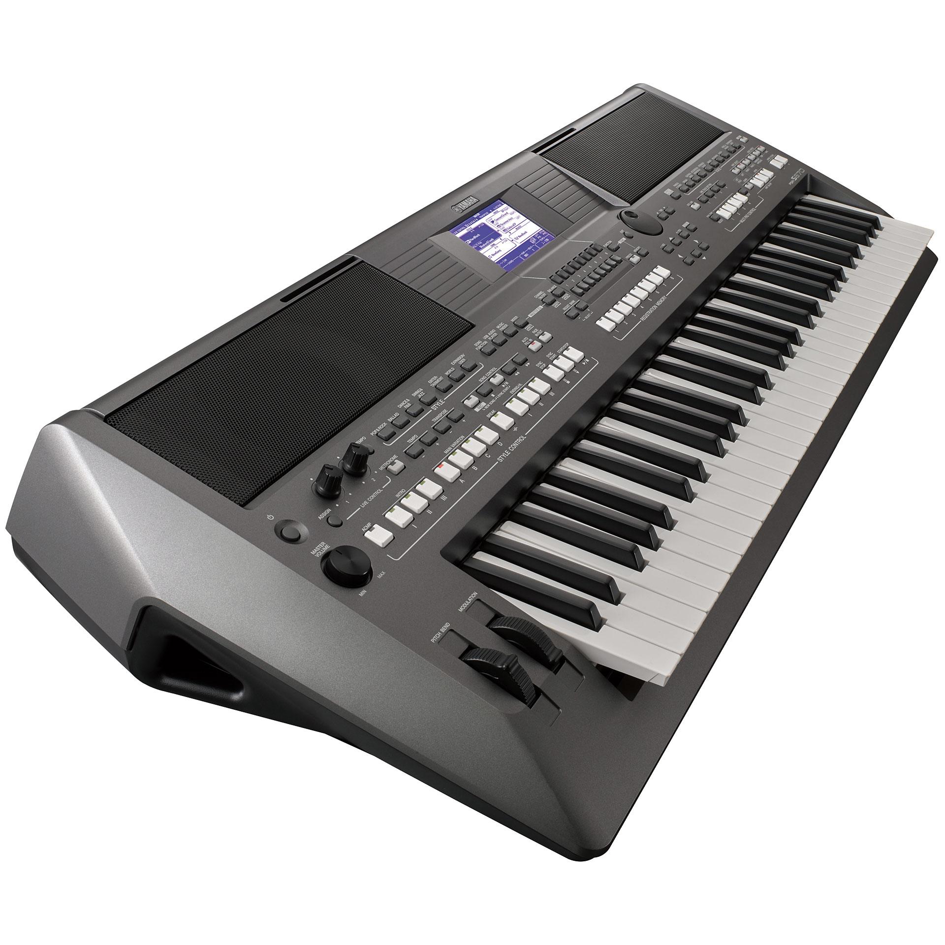 Yamaha PSR-S670 « Synthétiseur