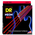 Corde basse électrique DR Neon Red Medium