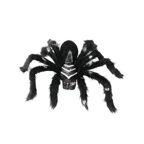 Europalms Spinne real, schwarzes Fell