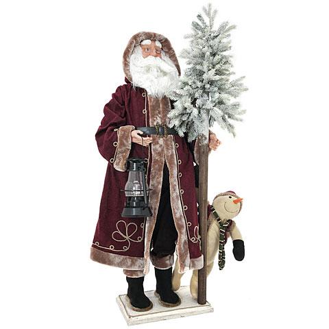 Europalms Weihnachtsmann, stehend, 150cm