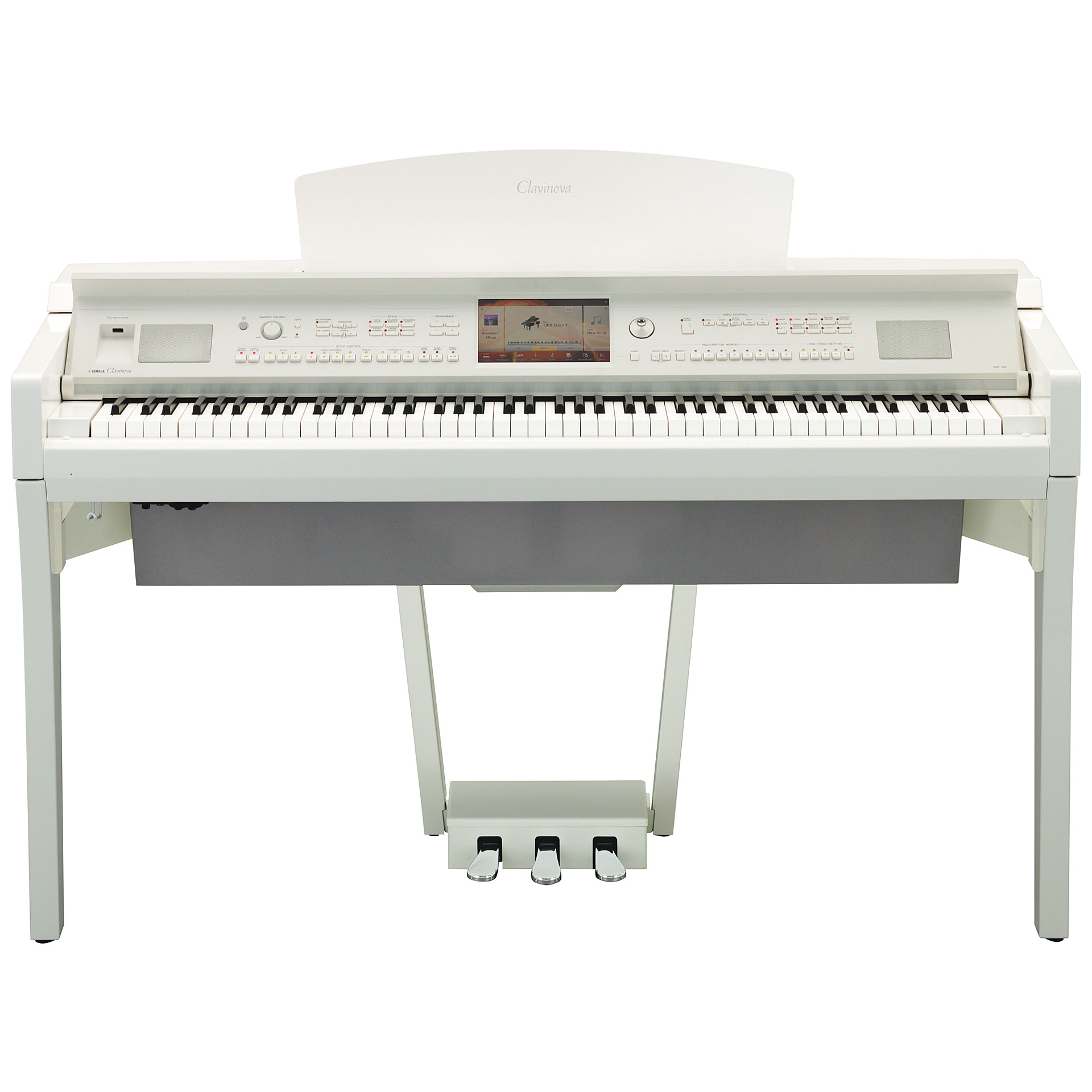 yamaha clavinova cvp 709 pwh piano num rique. Black Bedroom Furniture Sets. Home Design Ideas