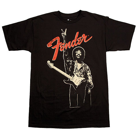 Fender Jimi Hendrix Peace Sign BLK S