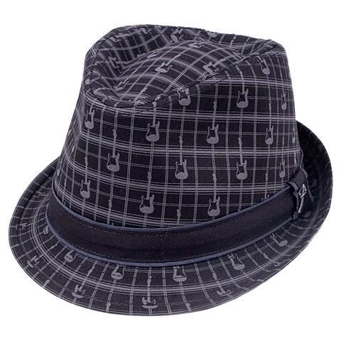 Fender Axe Plaid Fedora L/XL