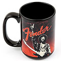 "Fender Kaffeetasse Jimi Hendrix ""Peace Sign"" Mug « Article cadeau"