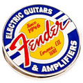 Article cadeau Fender Magnet Clip Guitars and Amps Logo