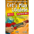 Recueil de Partitions Hage Let's Play Ukulele Pop Rock Hits
