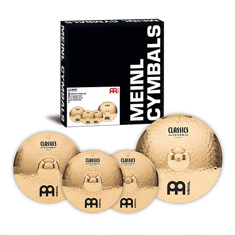 Meinl Classics Custom Complete Cymbal Set 14/16/20