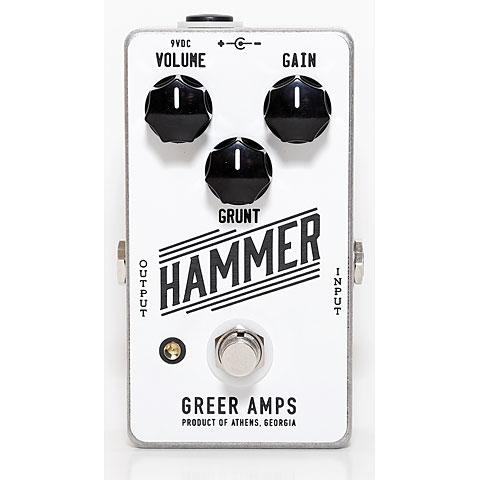 Greer Amps Hammer