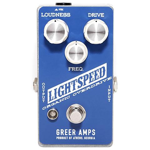 Greer Amps Lightspeed Organic Overdrive