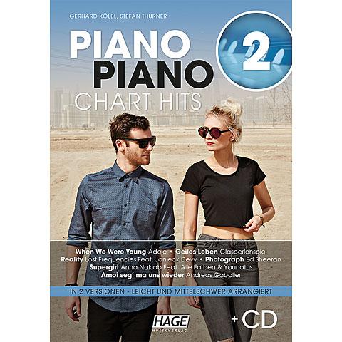 Hage Piano Piano Chart Hits 2