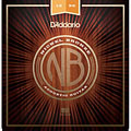 D'Addario NB1256 Nickel Bronze Set « Corde guitare folk