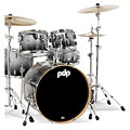 pdp Concept Maple CM5 Silver to Black Sparkle Fade « Batterie acoustique