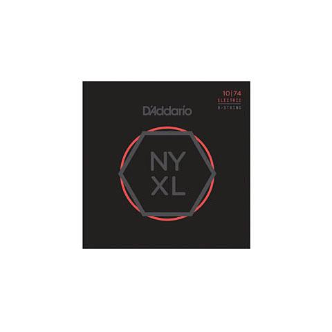 D'Addario NYXL1074 8-String Set