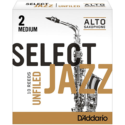 D'Addario Select Jazz Altsax unfiled 2-M