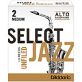 D'Addario Select Jazz Altsax unfiled 2-M « Anches