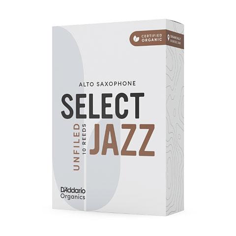 D'Addario Select Jazz Unfiled Alto Sax 4H