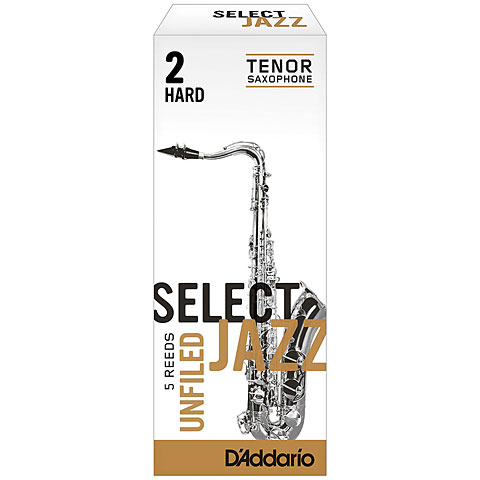D'Addario Select Jazz Unfiled Tenor Sax 2H