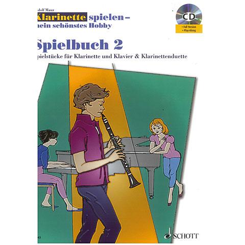 Schott Klainette spielen - mein schönstes Hobby Spielbuch 2