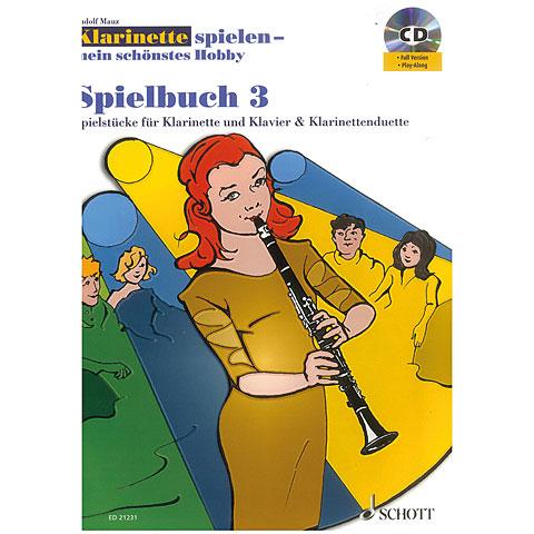 Schott Klainette spielen - mein schönstes Hobby Spielbuch 3