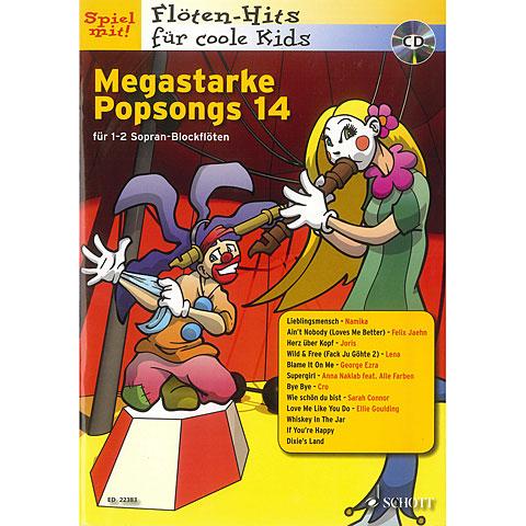 Schott Megastarke Popsongs 14