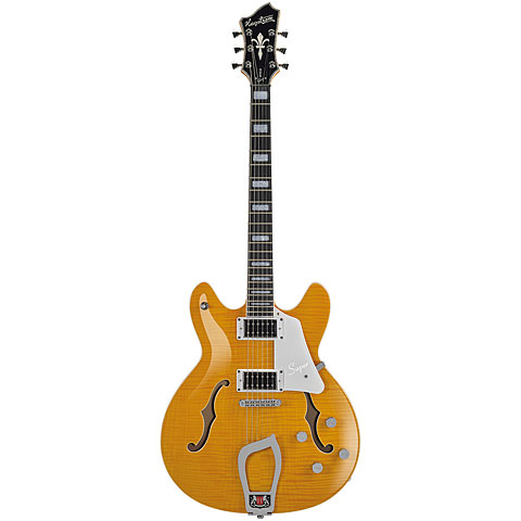 Hagstrom Super Viking Dandy Dandelion Flame