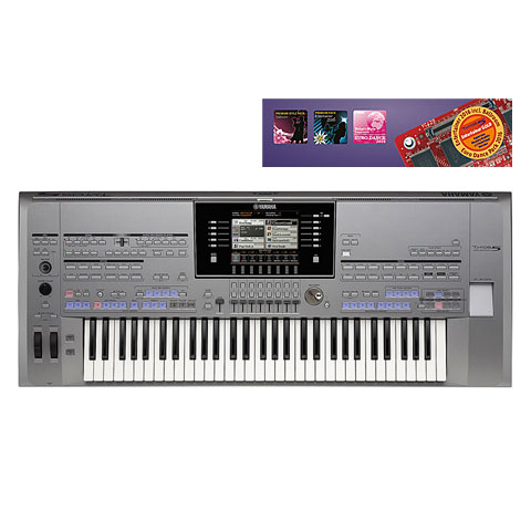 Yamaha Tyros 5 - 61 Entertainer Gold