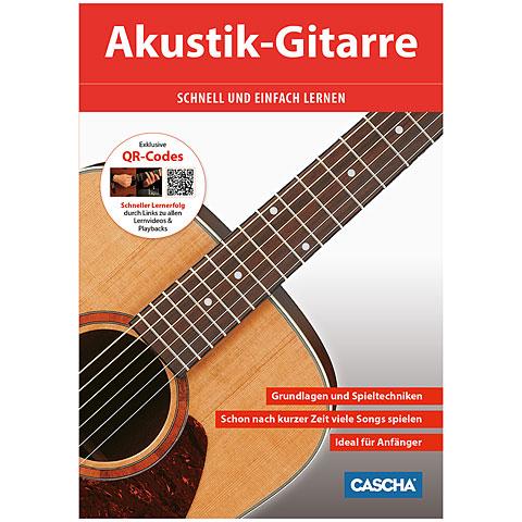 Cascha Akustik-Gitarre schnell und einfach lernen