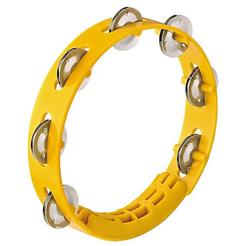 Nino 8  Yellow ABS Compact Tambourine