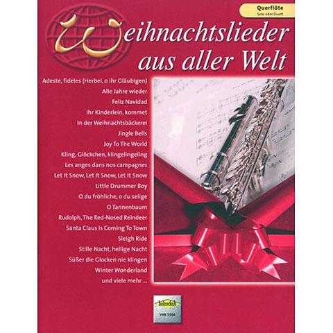 Holzschuh Weihnachtslieder aus aller Welt for Flute