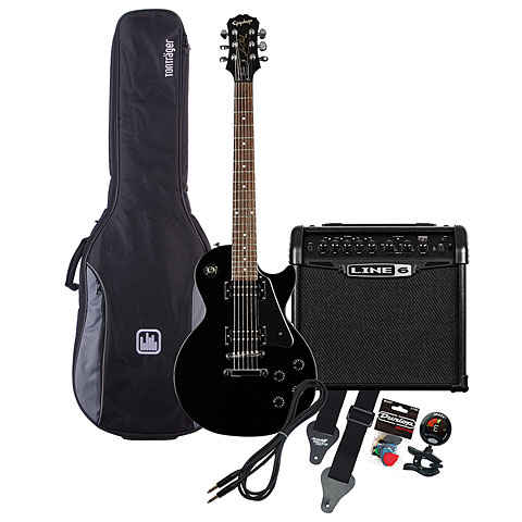 Epiphone LP Studio EB / Line 6 Spider IV 15 MP-Bundle