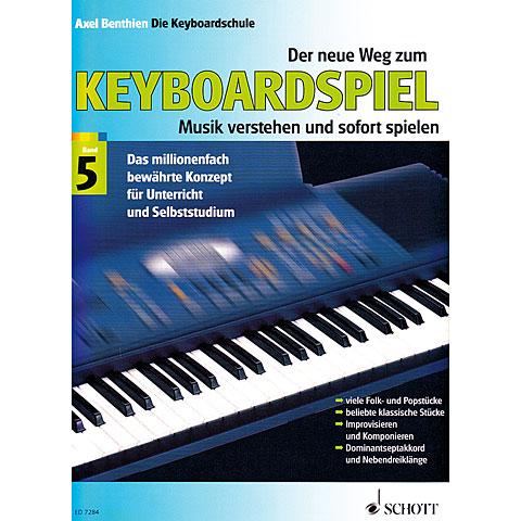 Schott Der neue Weg zum Keyboardspiel Bd.5