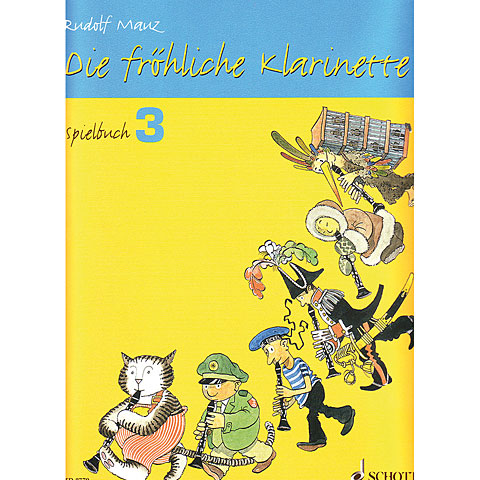 Schott Die fröhliche Klarinette Spielbuch Bd.3