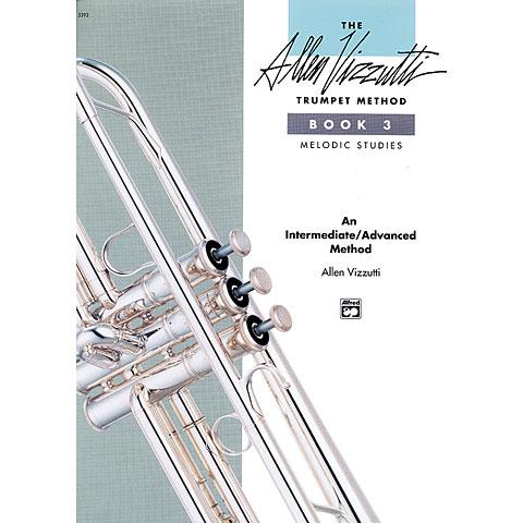 Alfred KDM Allen Vizzutti Trumpet Method Bd.3 - Melodic Studies