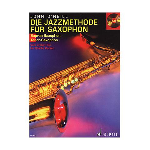 Schott Die Jazzmethode für Saxophon 1