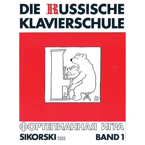 Sikorski Die Russische Klavierschule Bd.1