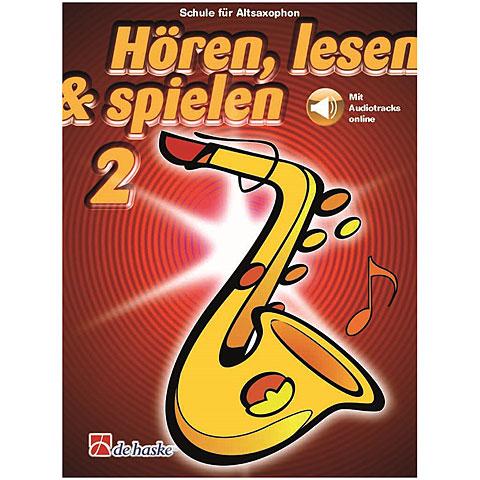 De Haske Hören,Lesen&Spielen Bd. 2 für Altsax