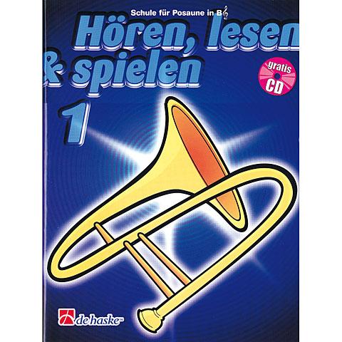 De Haske Hören,Lesen&Spielen Bd. 1 für Posaune in B