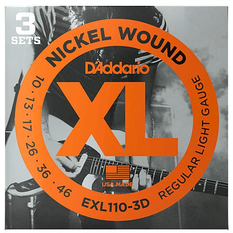D'Addario EXL110-3D Nickel Wound .010-046