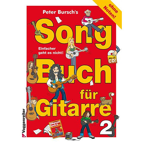 Voggenreiter Songbuch für Gitarre