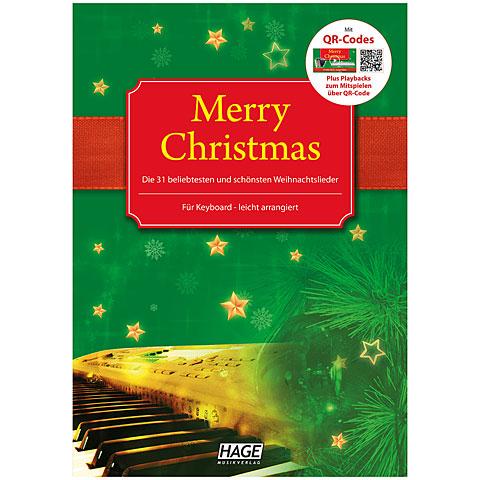 Hage Merry Christmas für Keyboard