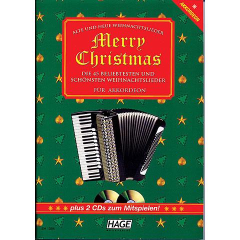 Hage Merry Christmas für Akkordeon