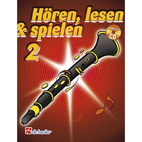 De Haske Hören,Lesen&Spielen Bd. 2 für Boehm Klarinette