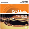 Pour guitare folk D'Addario EZ900 Extra Light