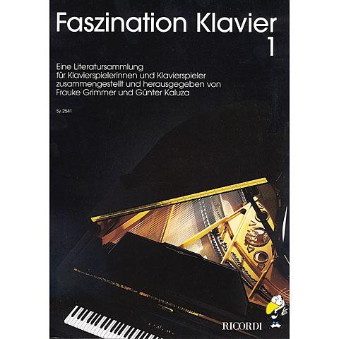Ricordi Faszination Klavier Bd.1