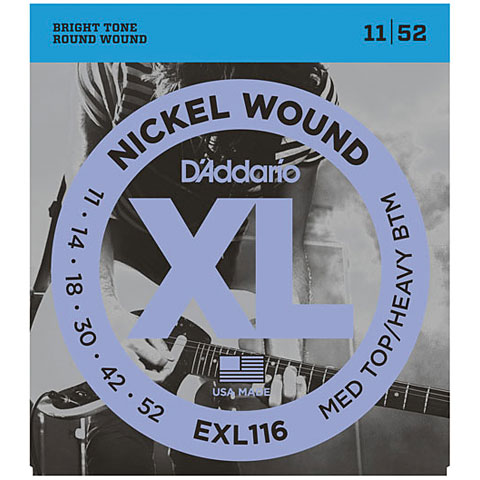 D'Addario EXL116 Nickel Wound .011-052