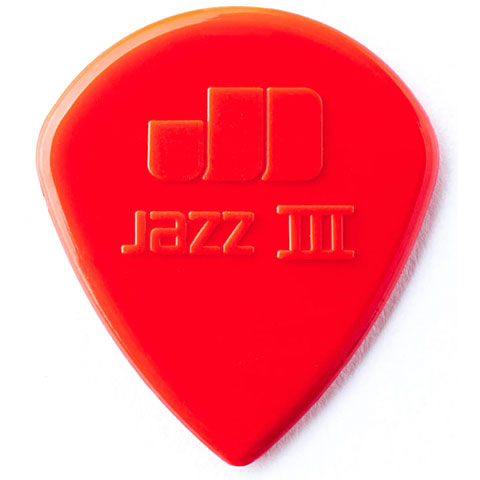 Dunlop Nylon Jazz III rot (6Stck)